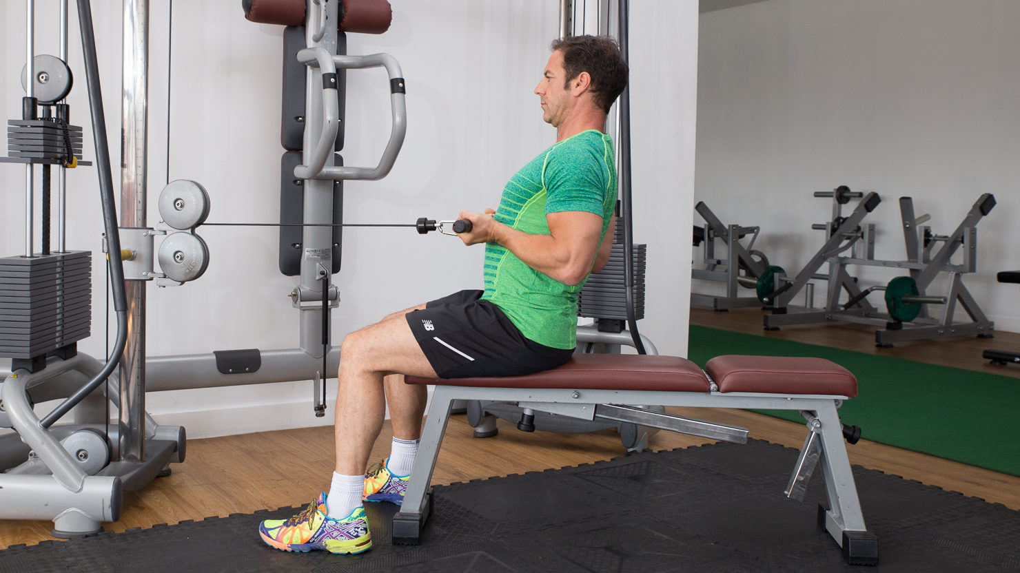Gym Exercise Video Library Cable Row